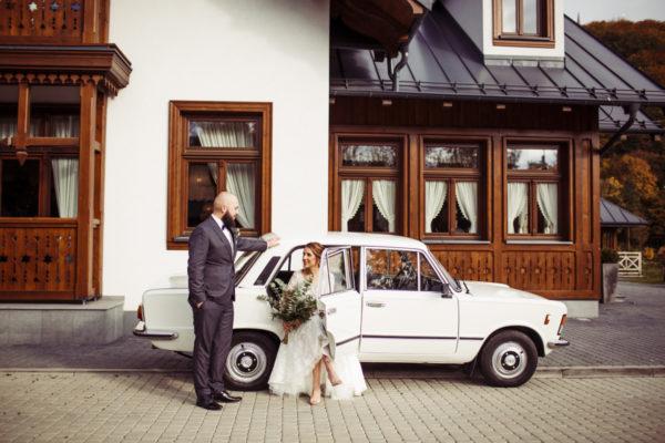 Jesienny ślub Magdy i Bartka w Pieninach