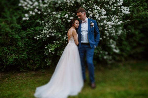 Sesja plenerowa w dniu ślubu