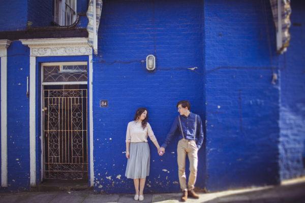 Magda & Szymek | sesja narzeczeńska w Londynie | Notting Hill