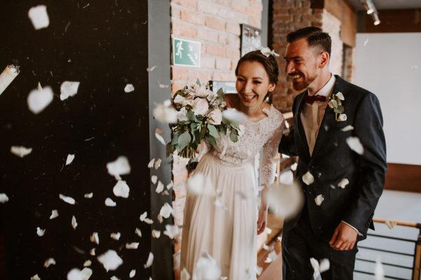 Ania & Jacek | intymne przyjęcie weselne w Lublinie