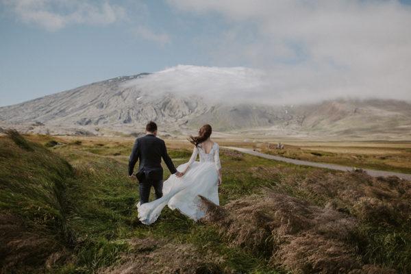 Ania & Jacek | sesja poślubna na Islandii