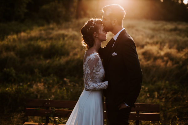 Kasia & Michał | eleganckie wesele | Dworek nad Wieprzem